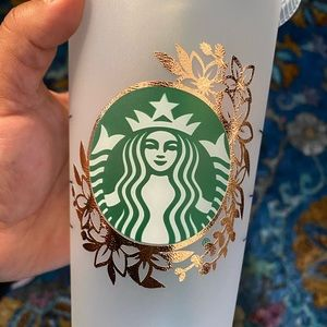 Starbucks Cold Cup- Custom